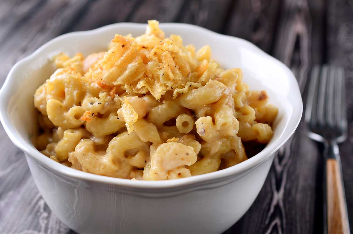 Caramelized French Onion Mac N' Cheese