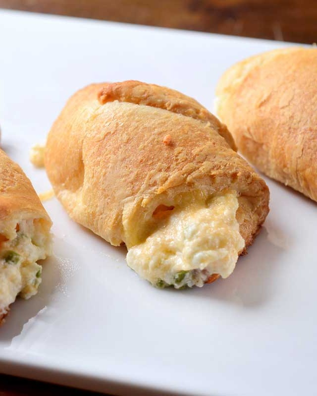 Cheesy Jalapeno Crescent Rolls