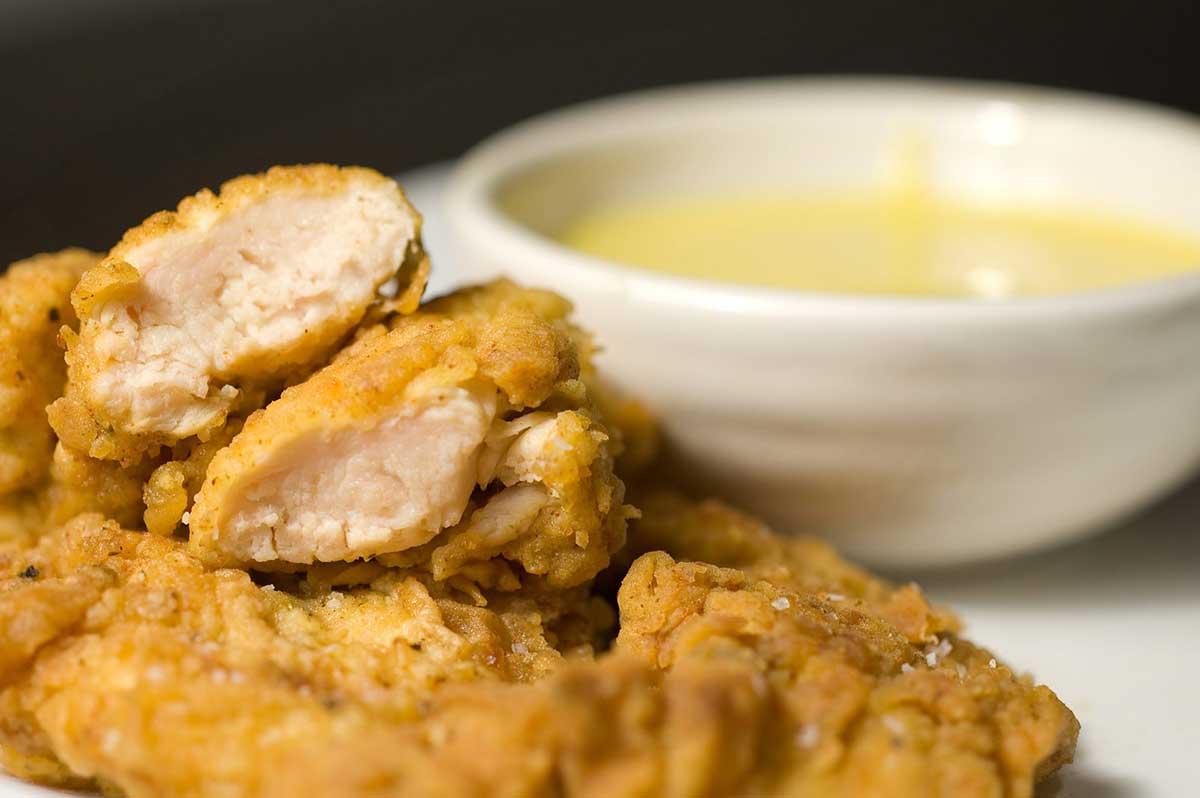Crunchy Cajun Chicken Tenders