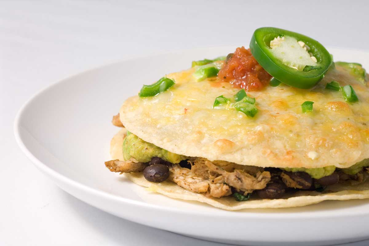 Chicken Tortilla Stack