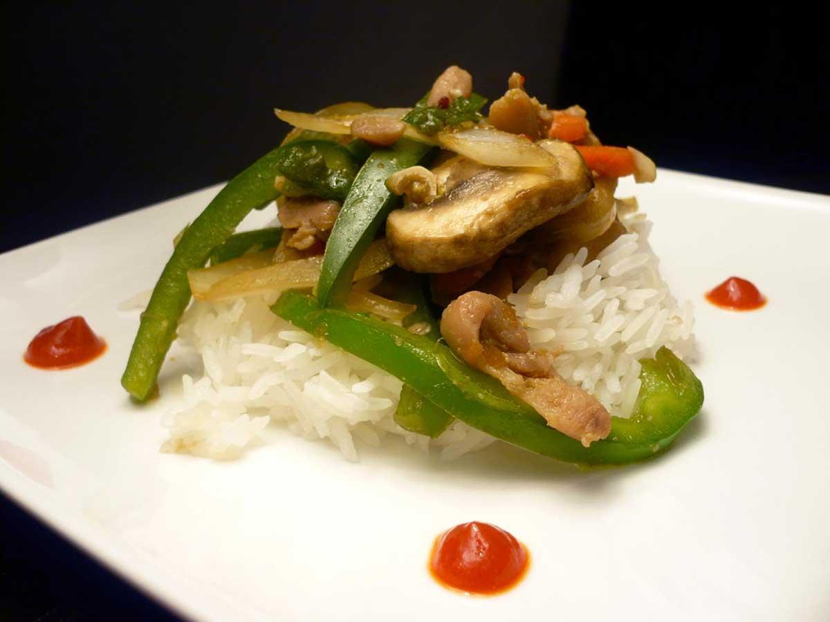 Spicy Chicken Teriyaki Stir Fry