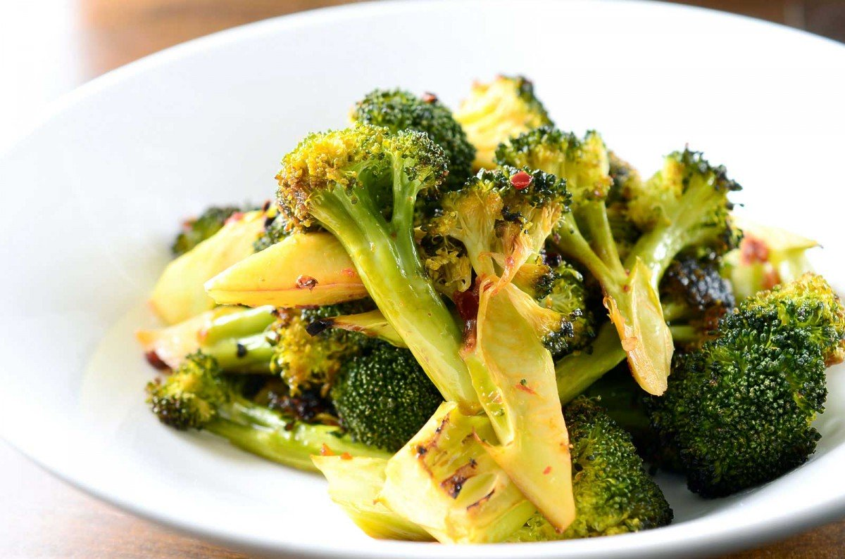 Chili Roasted Broccoli
