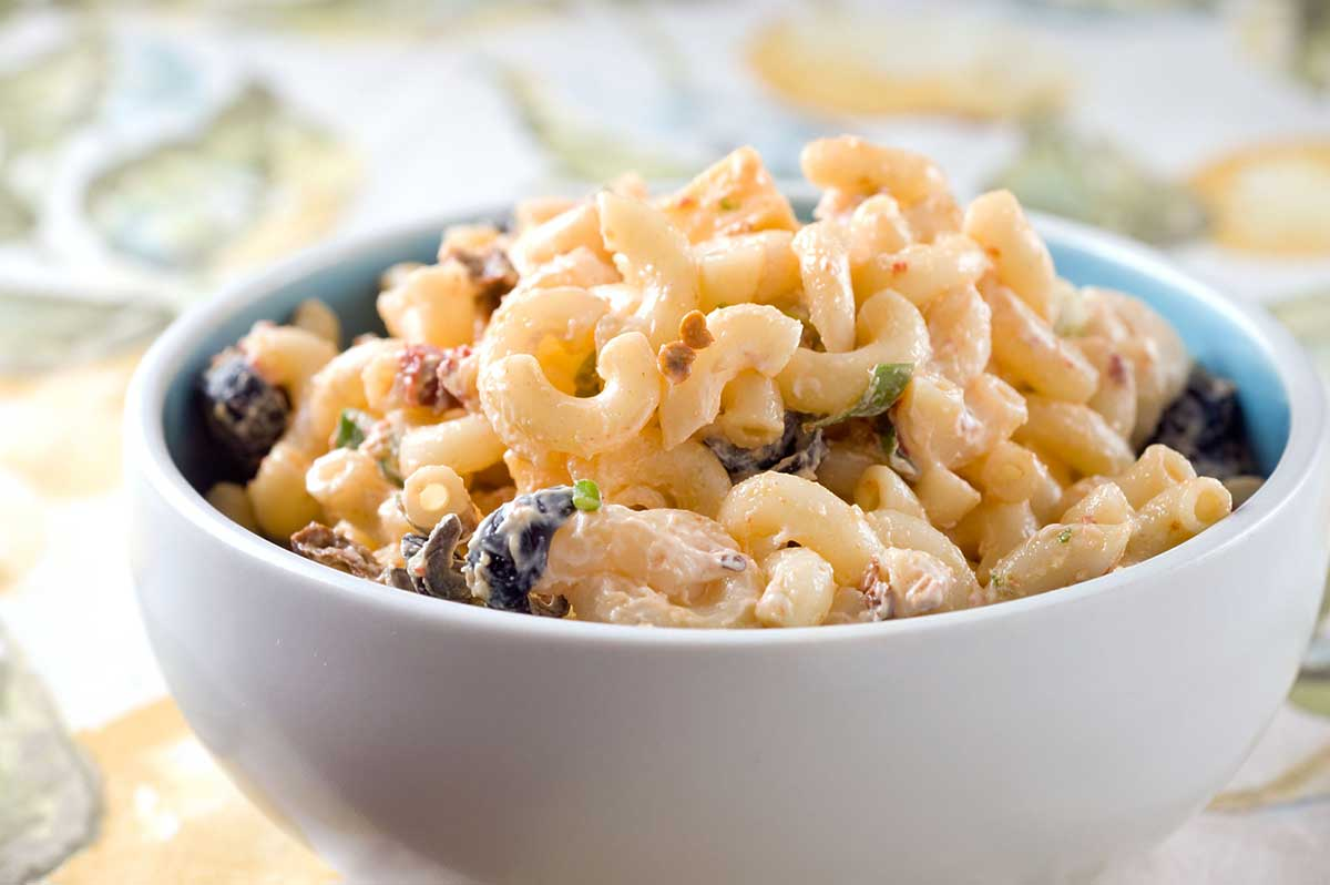 Chipotle Lime Macaroni Salad