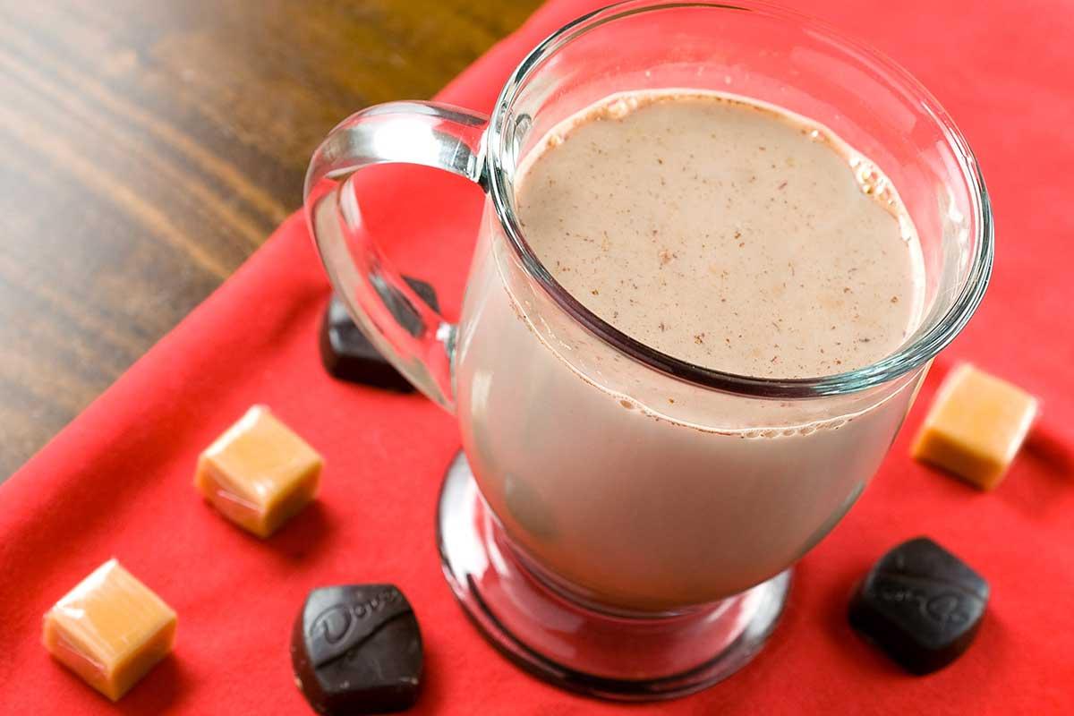 Chocolate Caramel Kiss Cocktail