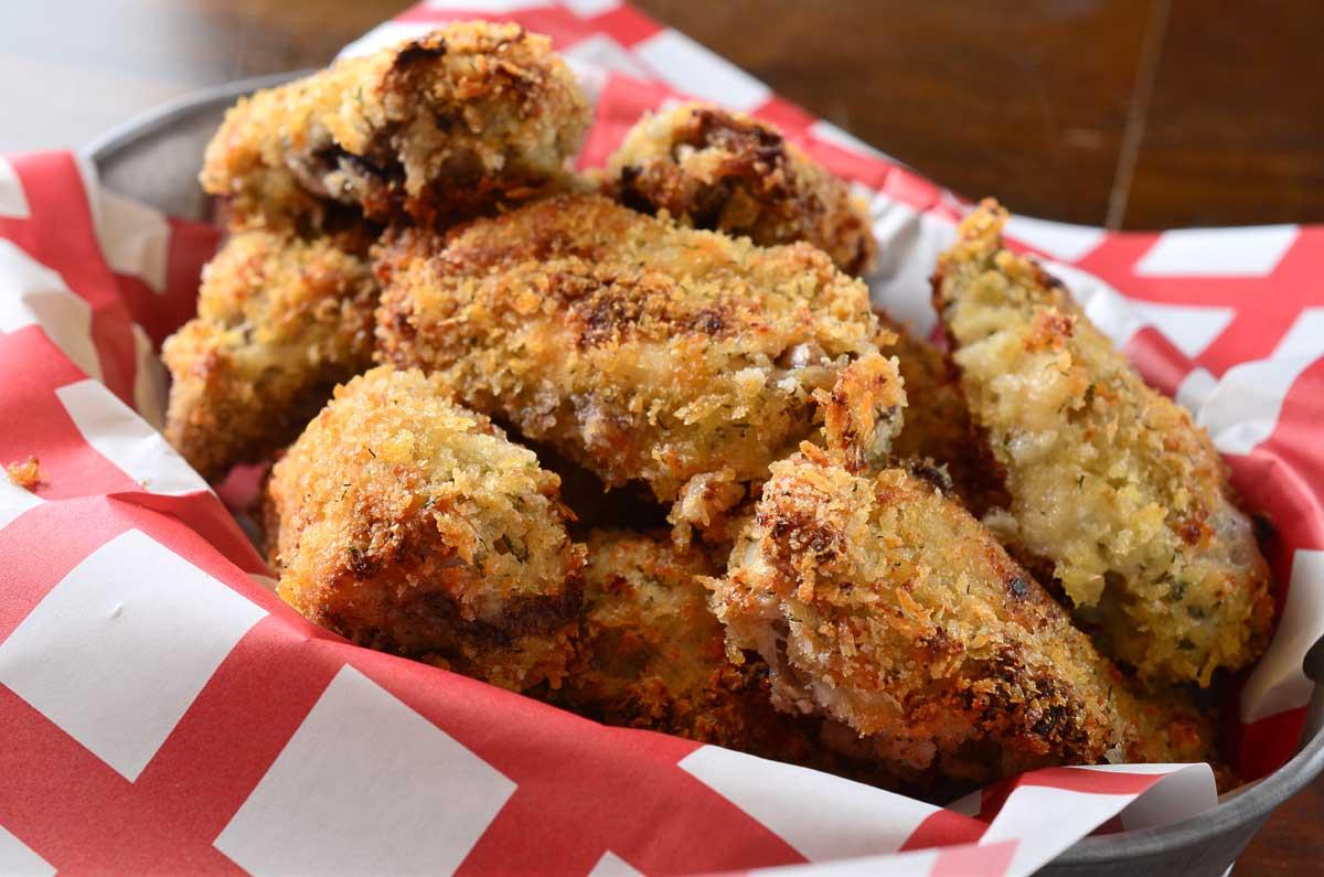 Crispy Dill Chicken Wings