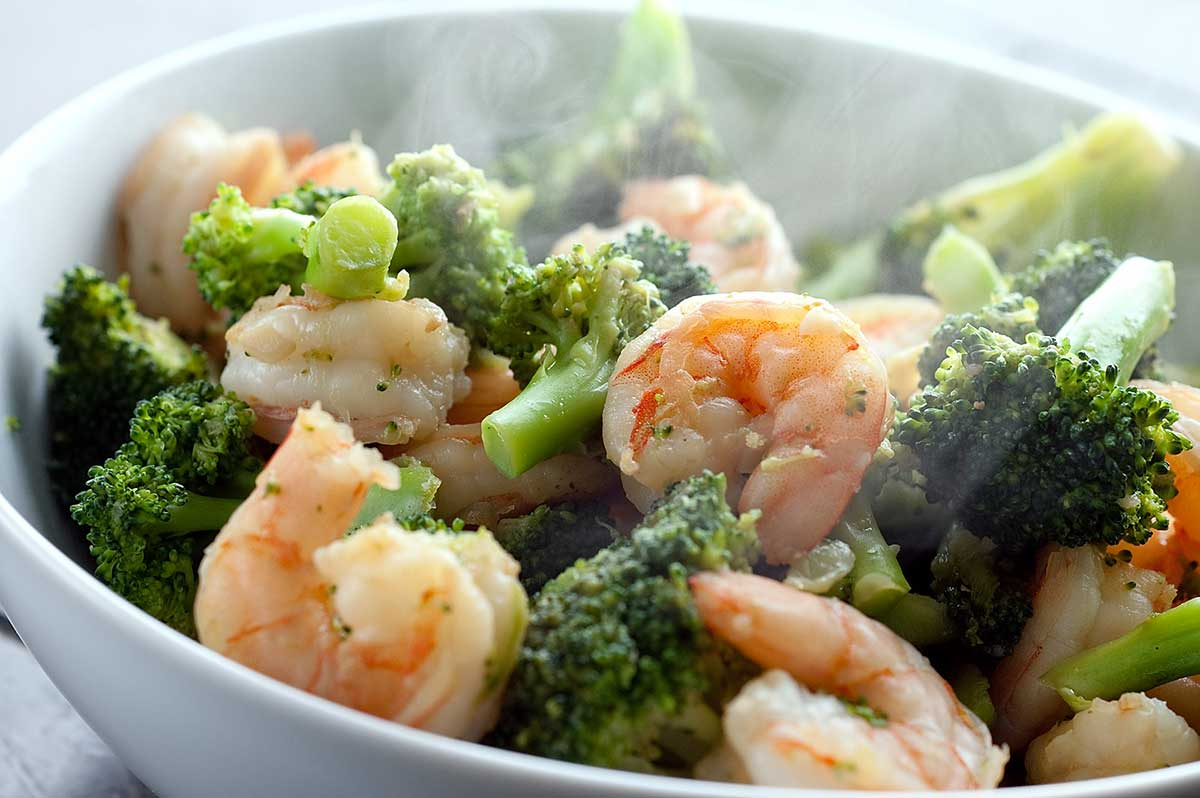 Ginger Shrimp and Broccoli Stir-Fry