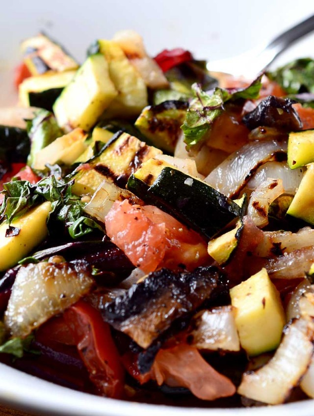 Recipe for Grilled Vegetable Salad - Life's Ambrosia Life's Ambrosia