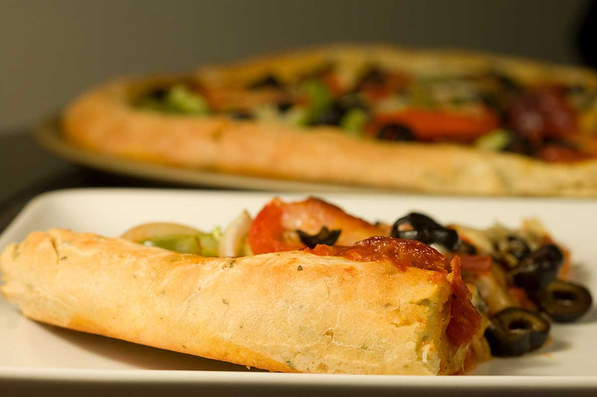 Herb and Sun Dried Tomato Pizza Crust