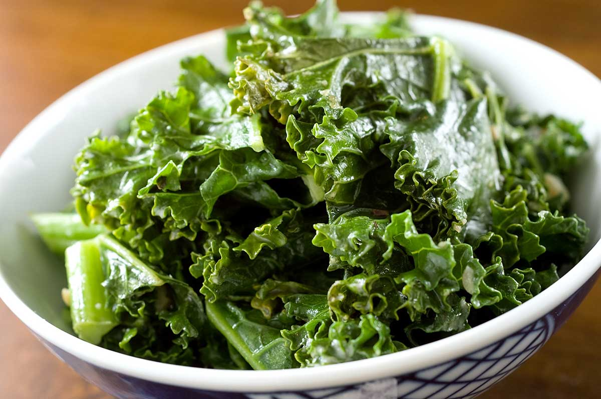 Kale with Tahini