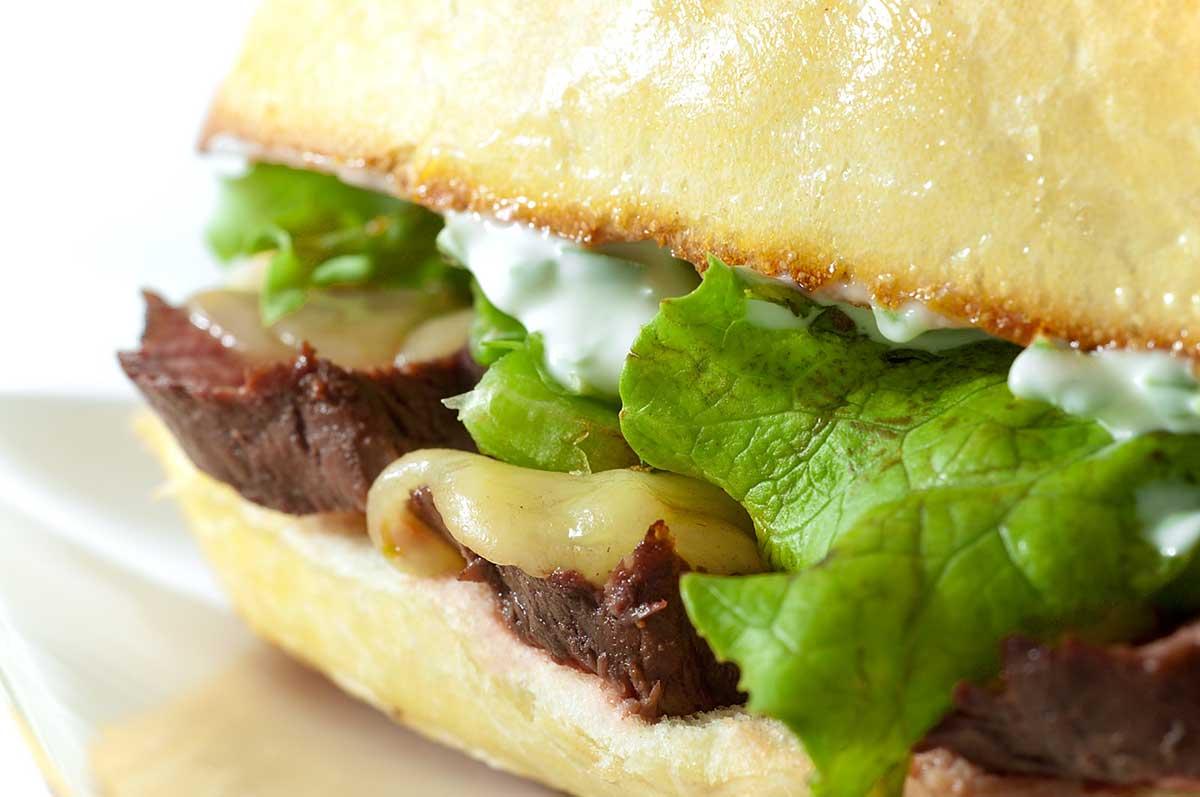 Pepper Jack Steak Sandwich
