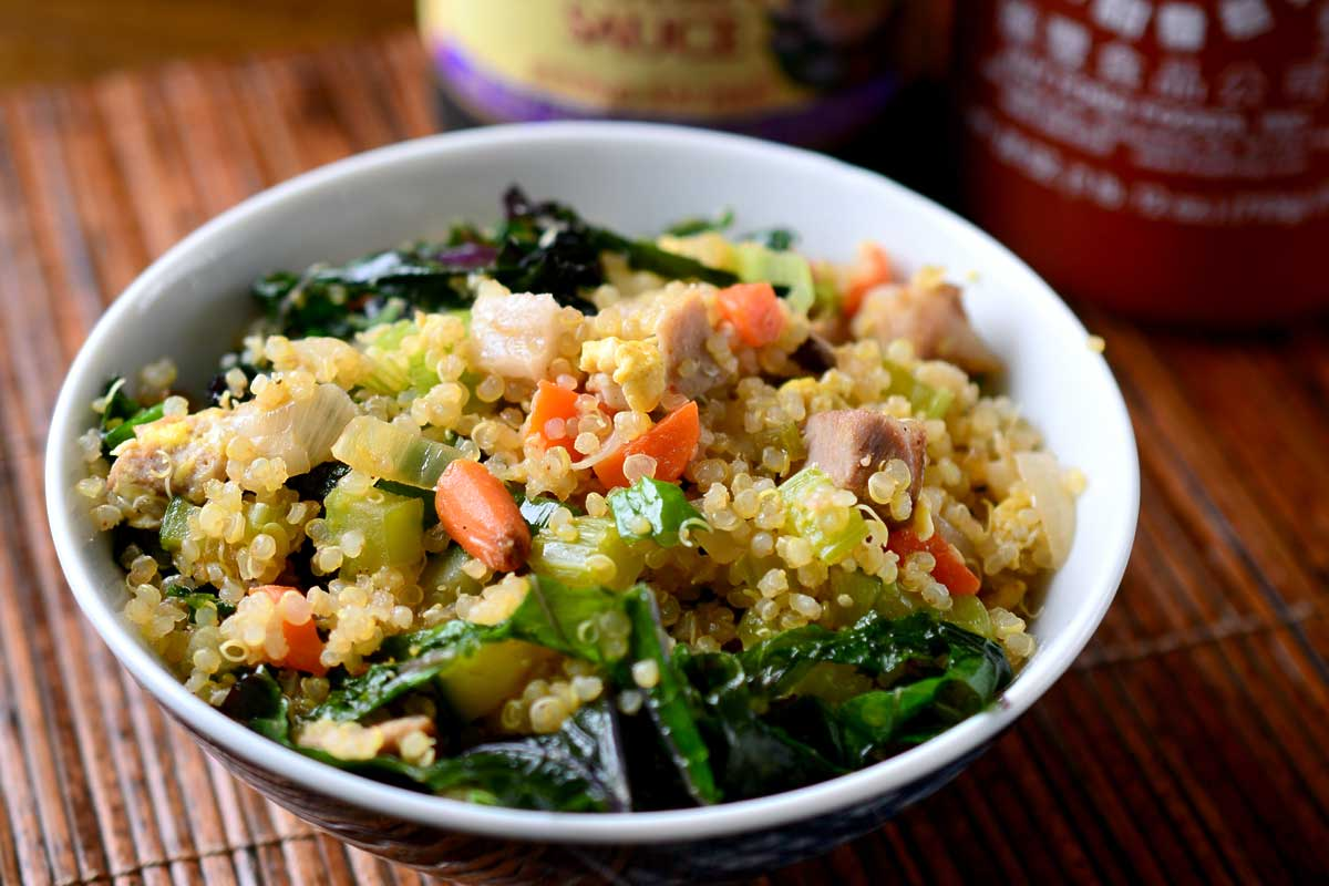 Pork Fried Quinoa