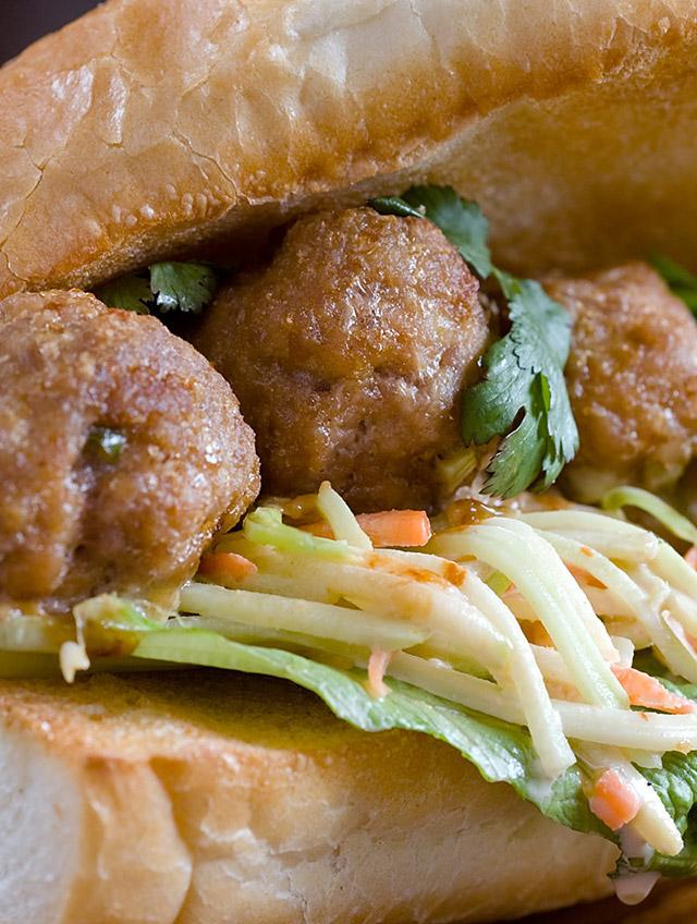 Asian Meatball Sub