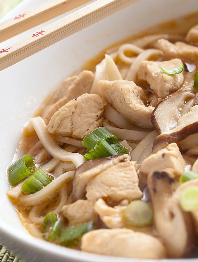 Chicken Udon Noodle Soup