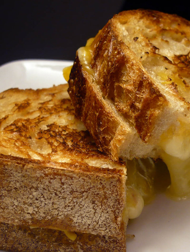 Yummy Cheesy Goodness- Grilled Cheese Sandwiches