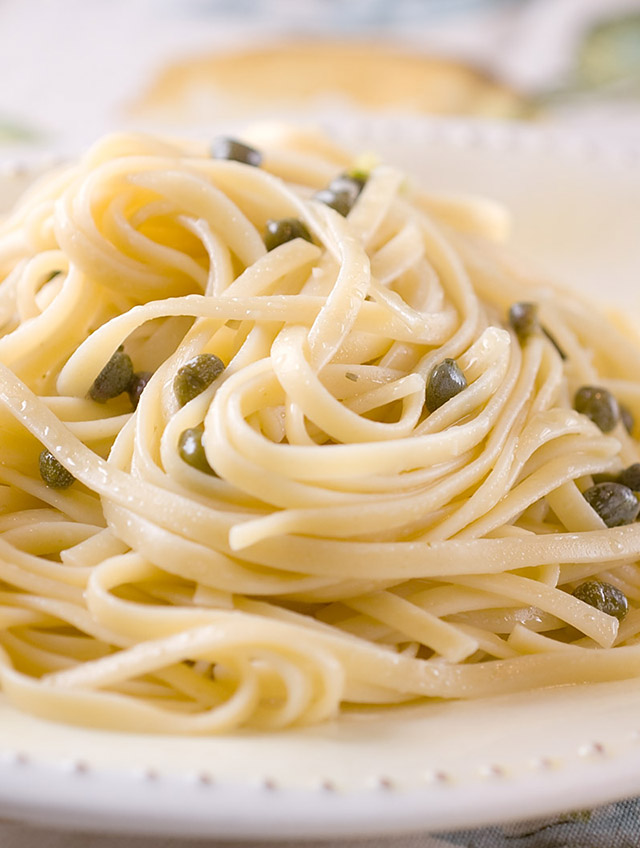 Lemon Caper Linguine