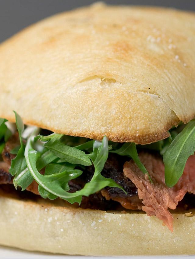 Rib Eye Steak Sandwiches