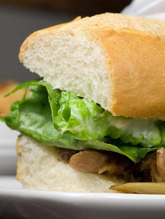 Roasted Pork Sandwiches