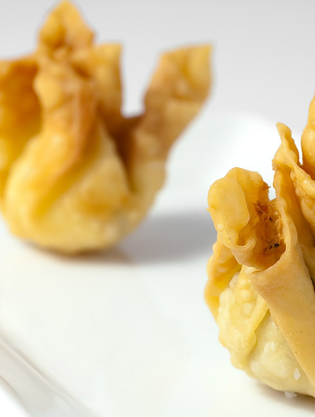 Scallion Cream Cheese Bites