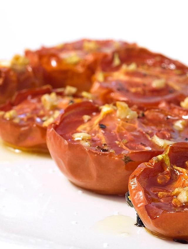 Blackened Sea Scallops, Green Onions, Roasted Tomatoes Recipe ...