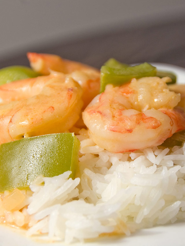 Thai Red Prawn Curry