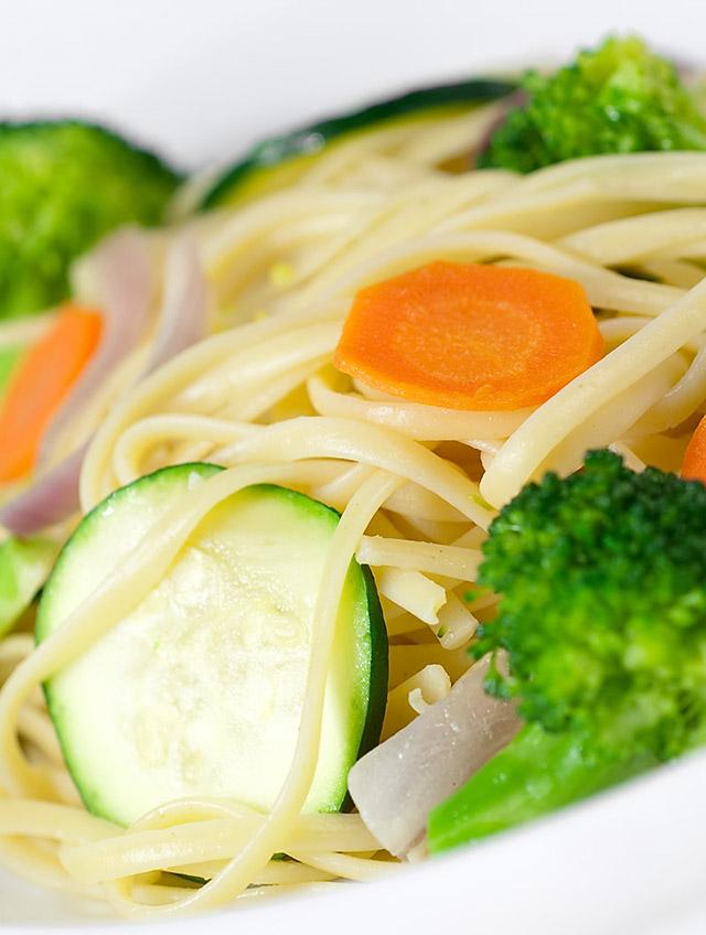 Vegetable Linguine