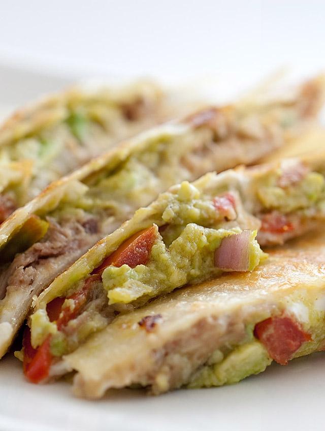 Chile Pork Quesadilla
