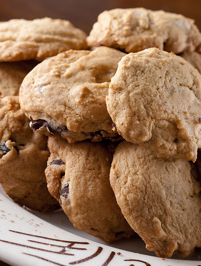Dark Chocolate Chip and Cherry Cookies