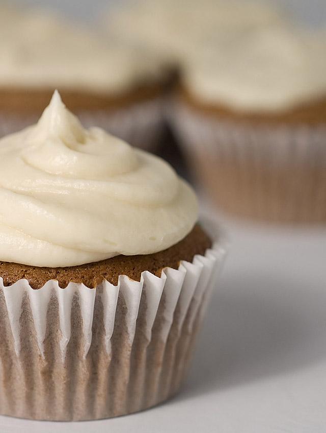 Irish Cream Cupcakes with Coffee Frosting