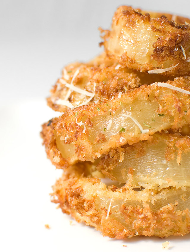 Crispy Parmesan Onion Rings