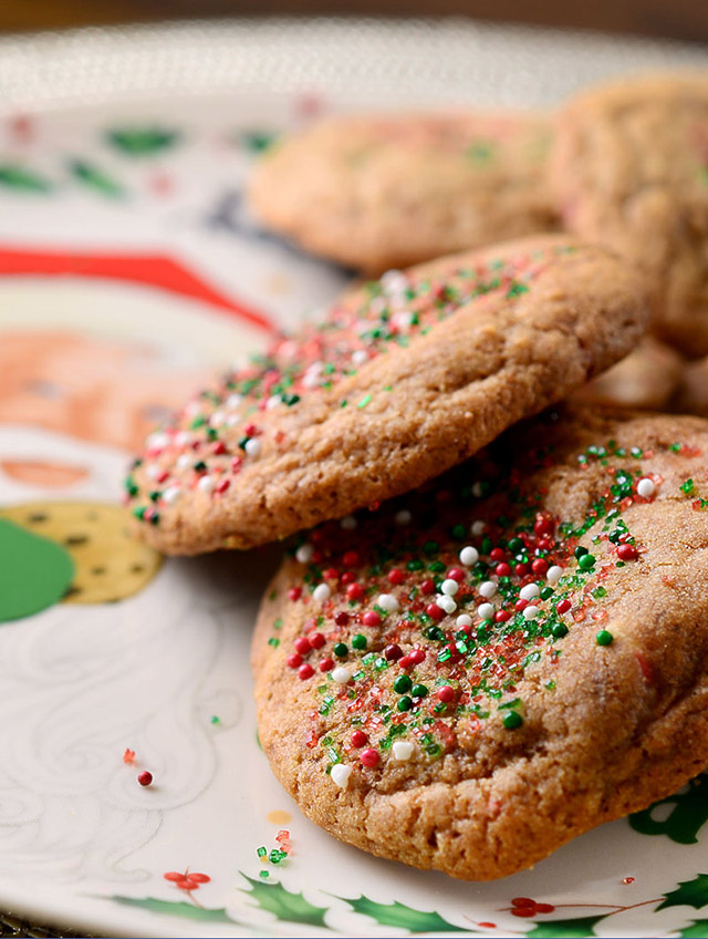 Peppermint White Chocolate Mocha Cookies