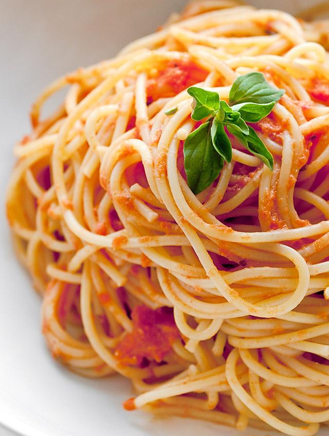 Spaghetti with Creamy Marinara