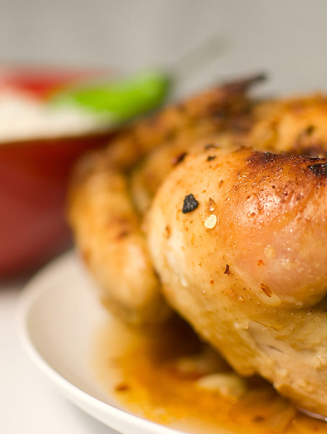 Thai Spiced Roasted Chicken
