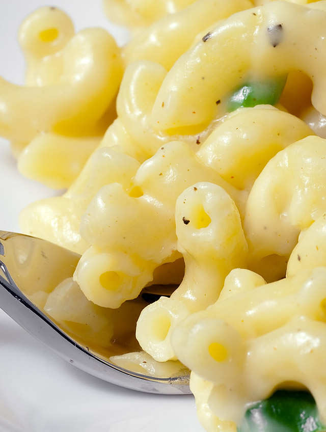 Three Cheese Stove Top Macaroni and Cheese