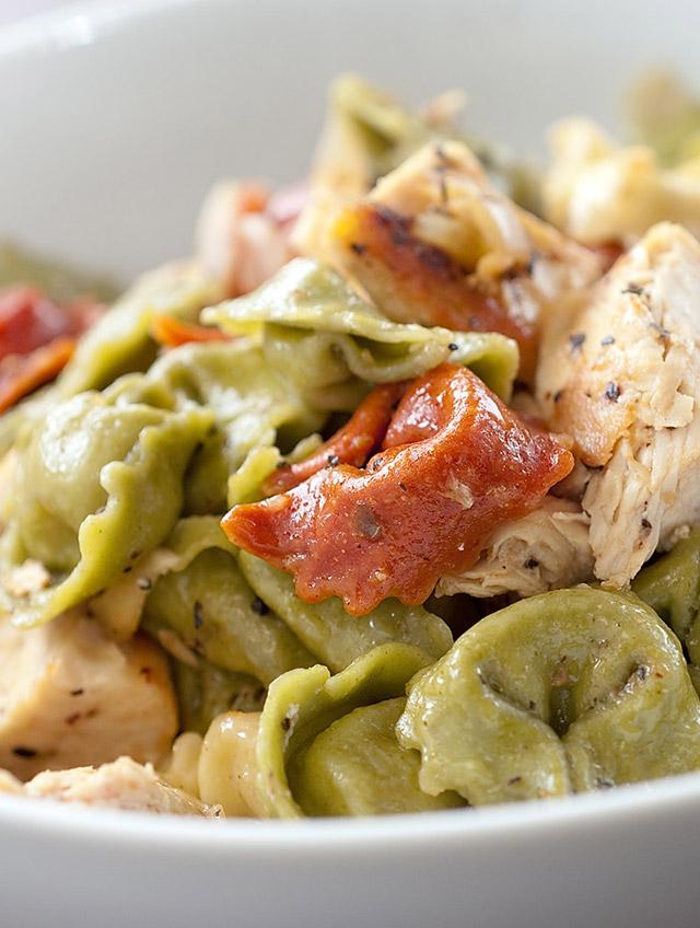 Caesar Chicken Tortellini