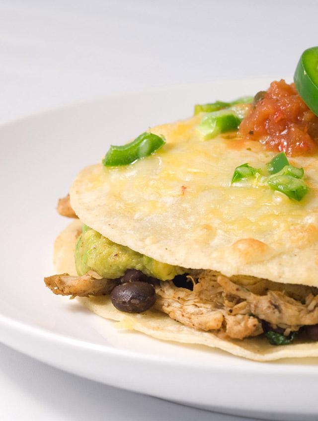 Chicken Tortilla Stack