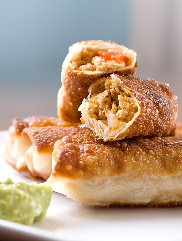 Chipotle Chicken Egg Rolls