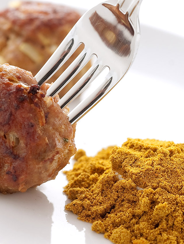 Curry Turkey Meatballs
