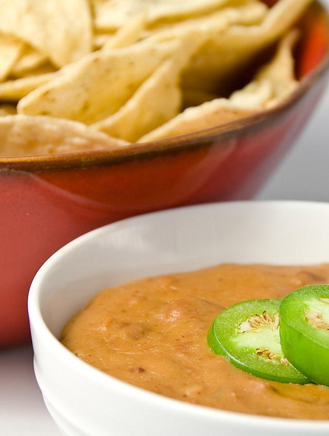 Hot Bean and Cheese Dip