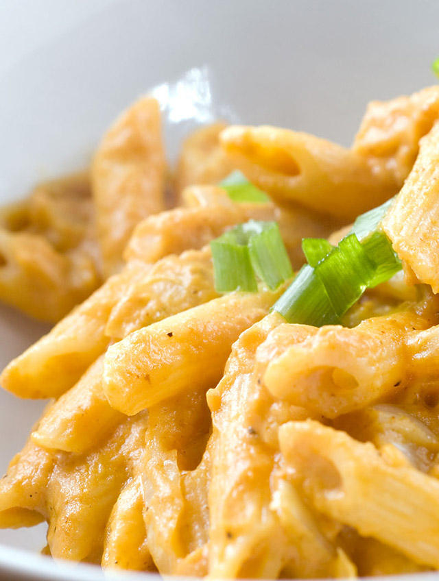 Pumpkin Curry Penne