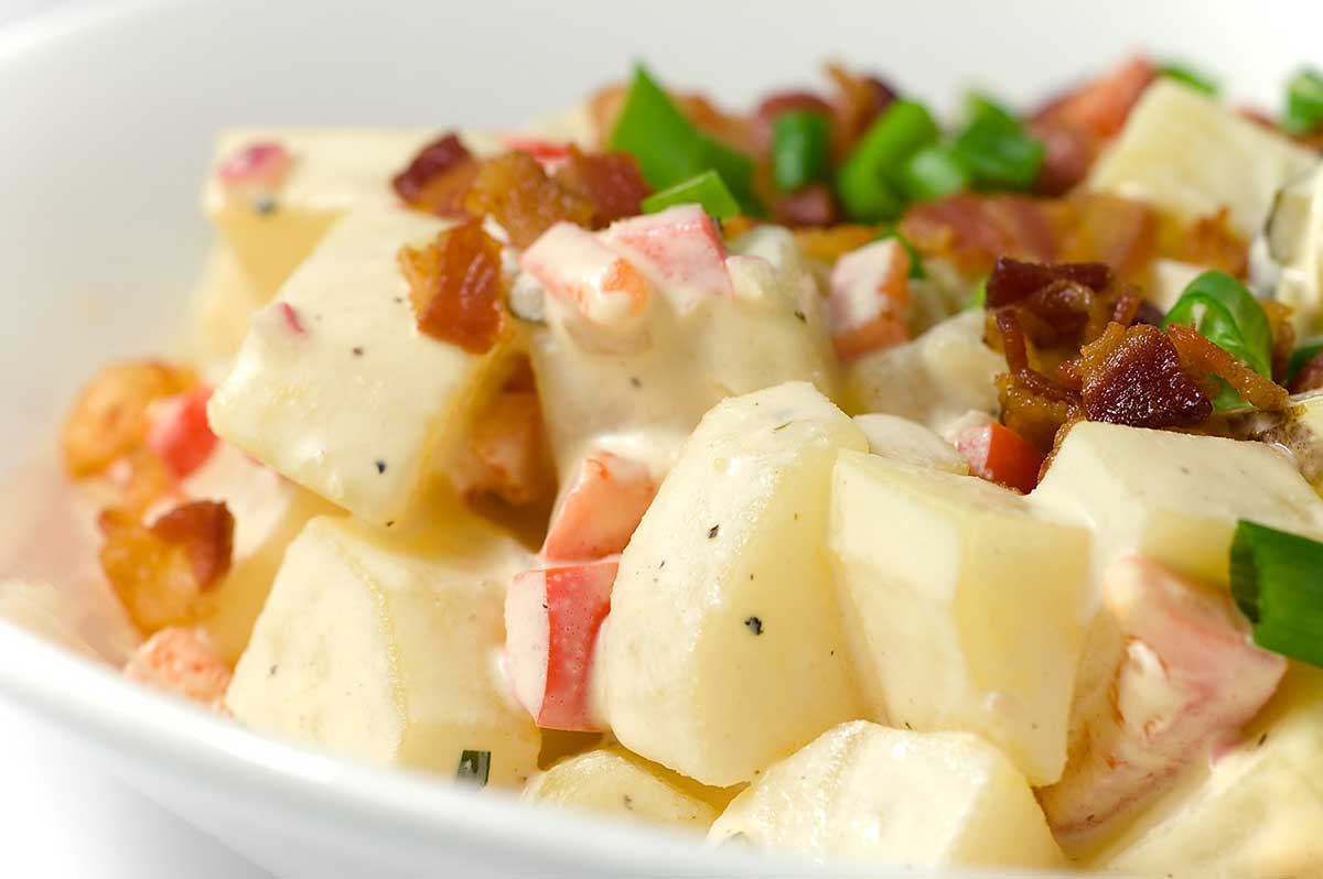 Homemade Classic Potato Salad Recipe