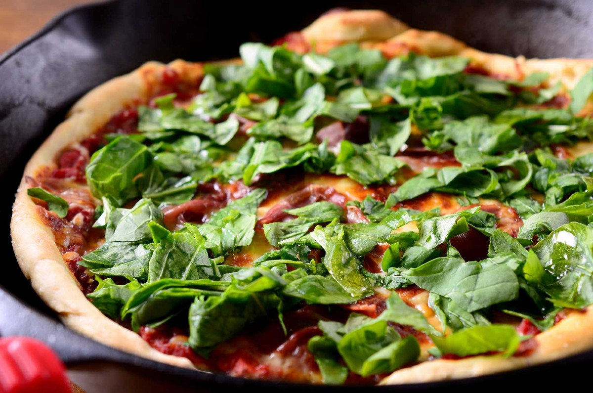 Prosciutto and Arugula Pizza - Life's Ambrosia