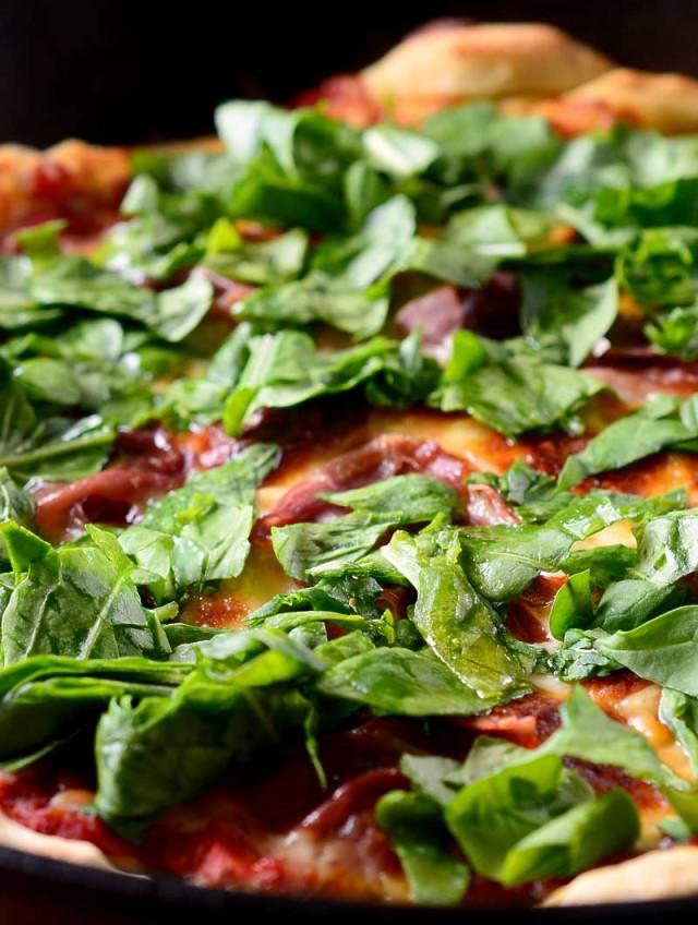 Recipe for Prosciutto and Arugula Pizza - Life's Ambrosia Life's ...