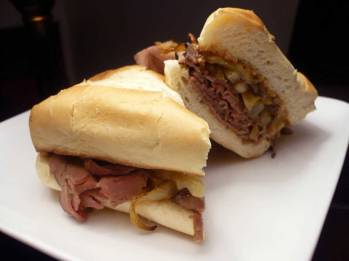 Roast Beef Sandwich with Horseradish Cream Sauce
