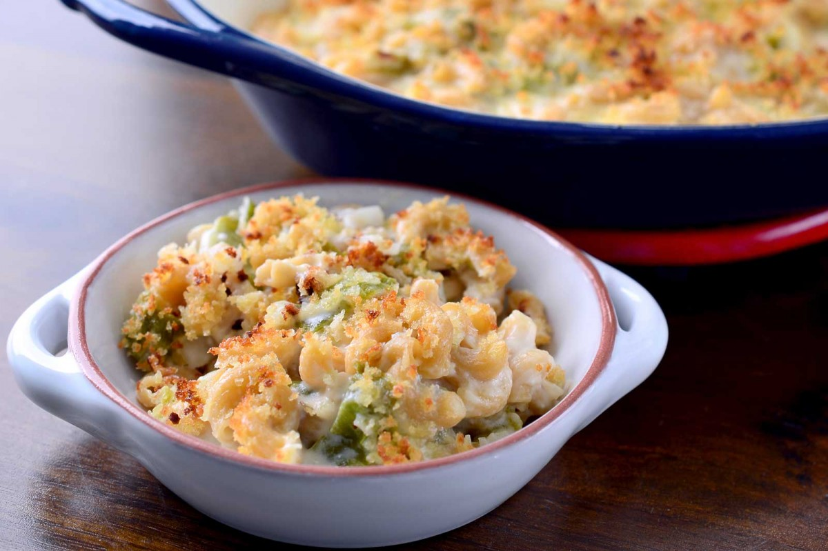 Roasted Hatch Chile Mac n' Cheese