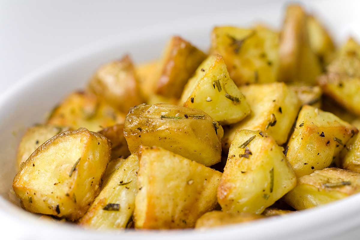 Roasted Rosemary Potatoes - Life's Ambrosia