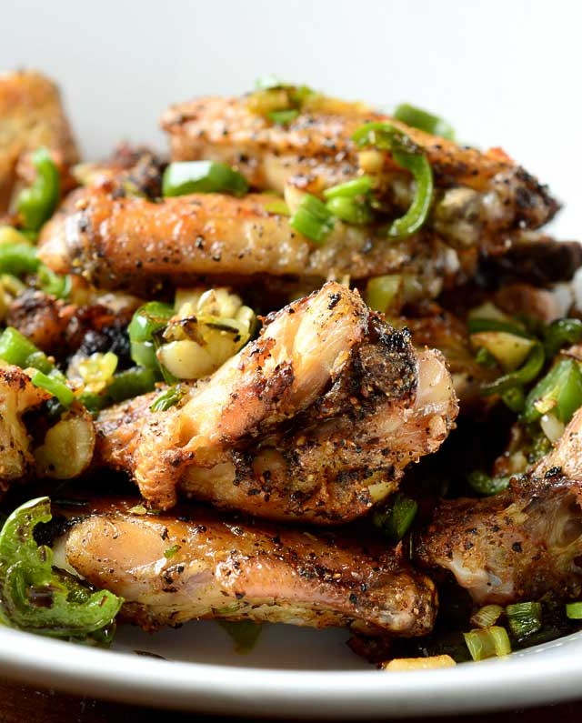 Recipe for Salt and Pepper Chicken Wings - Life's Ambrosia Life's ...
