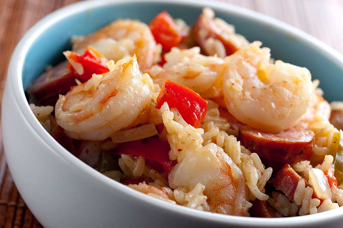 Shrimp and Andouille Jambalaya