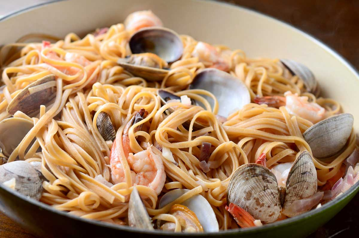 Linguine and shrimp pasta recipes