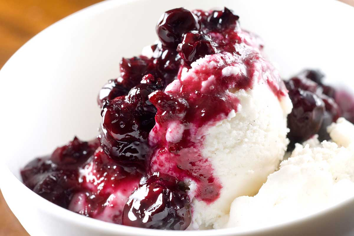 Simple Blueberry Sauce