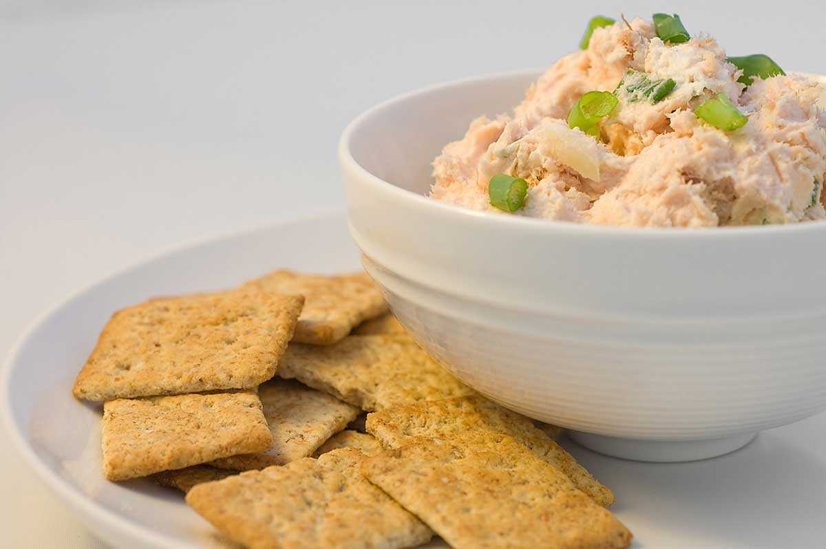 canned smoked salmon dip